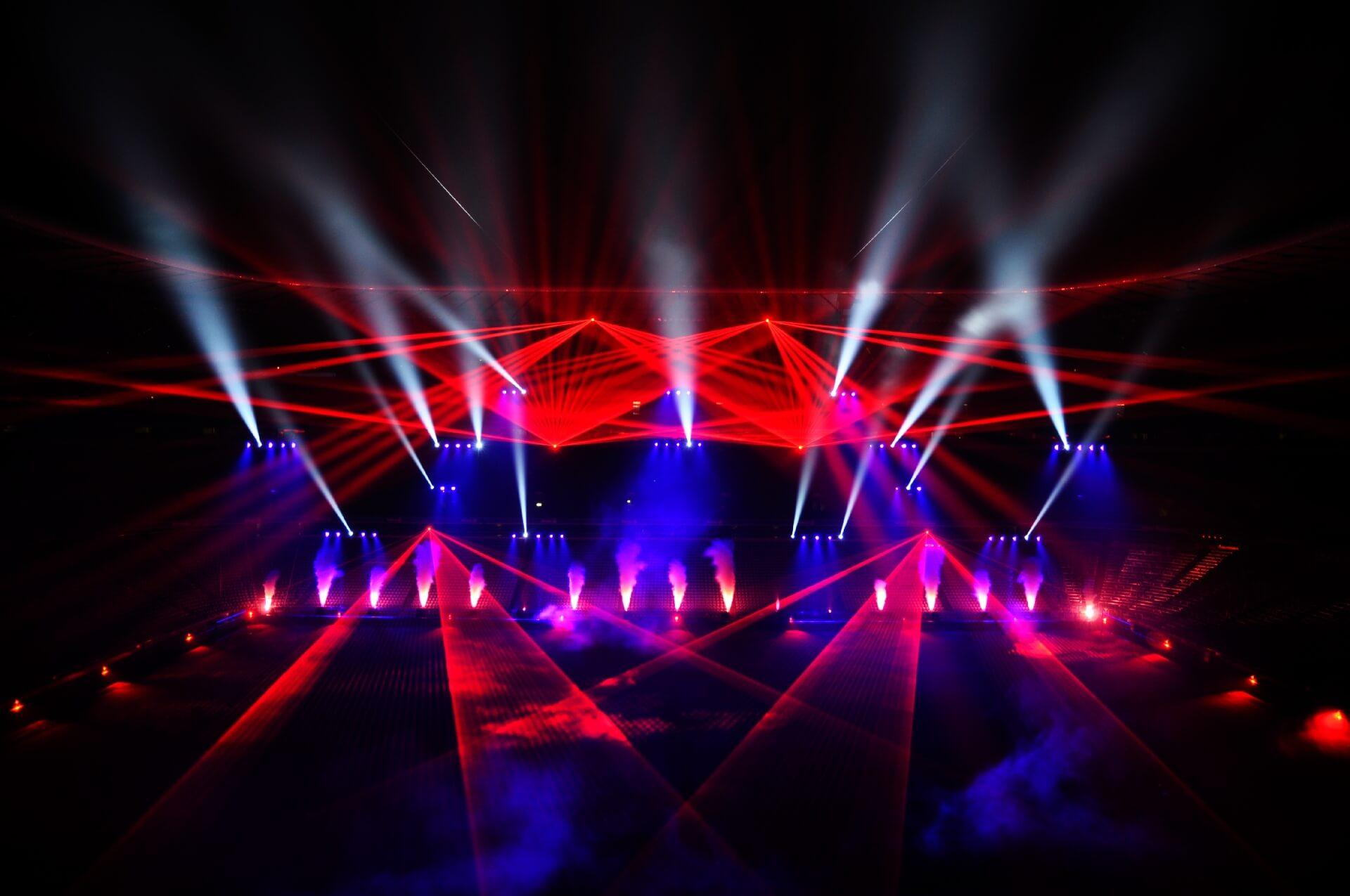 Lichtshow Mixmasters Ch