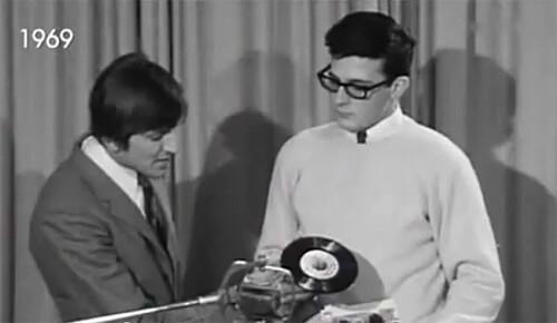 Damals in der DJ-Schule (1969)