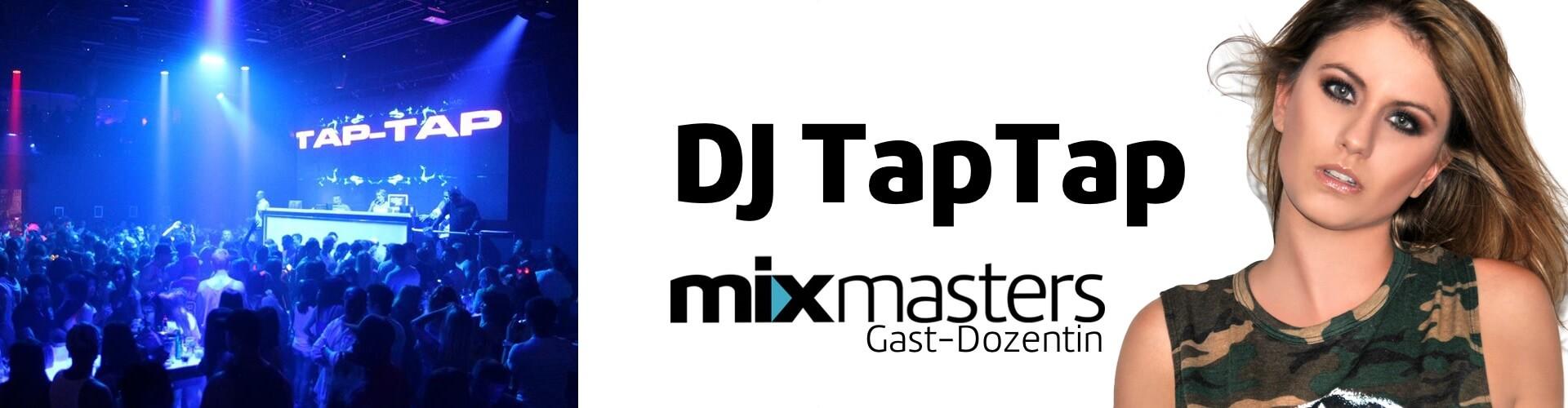 Gratis DJ Seminar für Dich – She DJ Tap Tap (Top 100 DJs Worldwide)