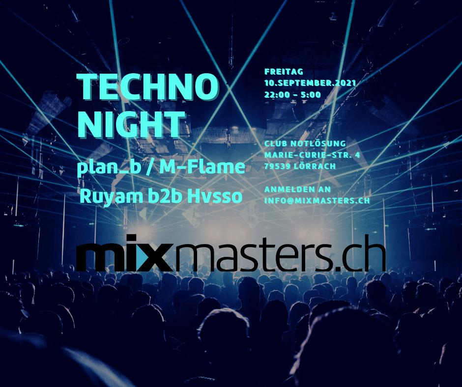 private Techno Party – Teststelle ist vorhanden